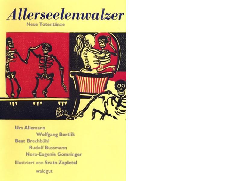 Margrit Manz, Allerseelenwalzer, Buchcover